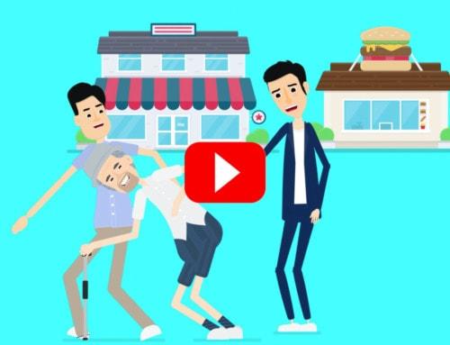 「介護の現場チャンネル」アニメーションオープニング動画制作:ささえるラボ(マイナビ)