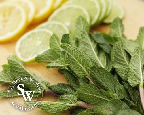 Sew White spring gin lemonade 2
