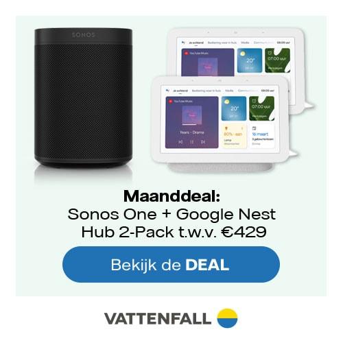 Sonos One energiezaken Vattenfall