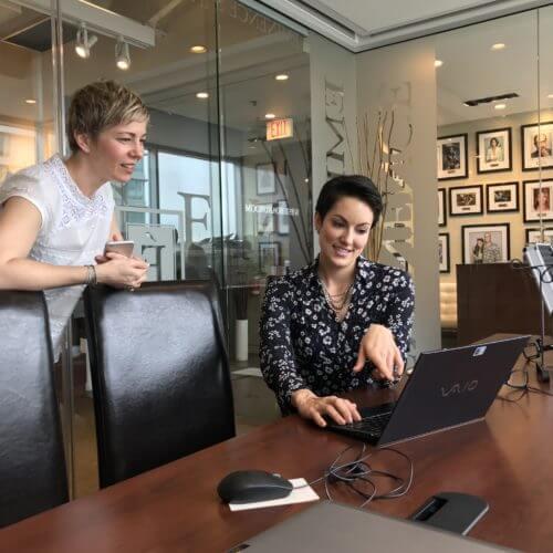 Greta Rose Agency at Eminence Organics Headquarters