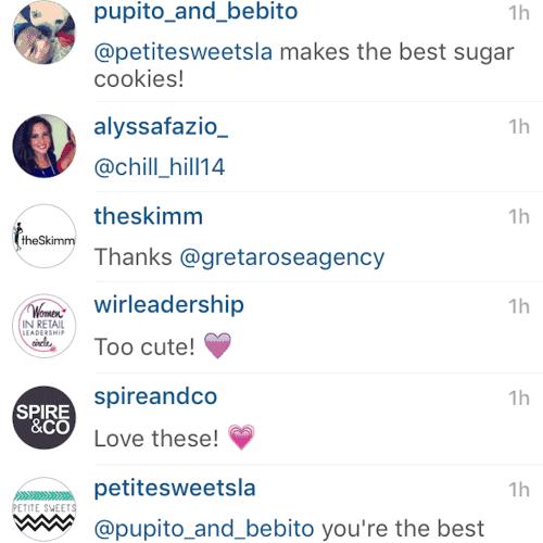 Greta Rose Agency cookies were a hit!