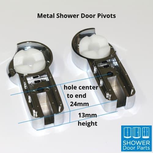 bath shower door pivot dimensions - ShowerDoorParts