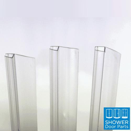 Vertical door seal h section strip 6-8-10mm