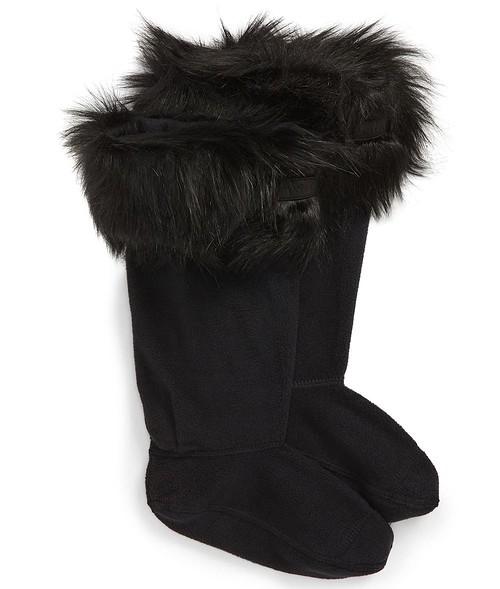 Hunter Original Tall Faux Fur Boot Socks