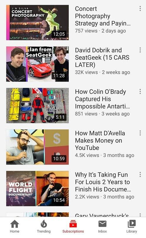 youtube mobile thumbnail image