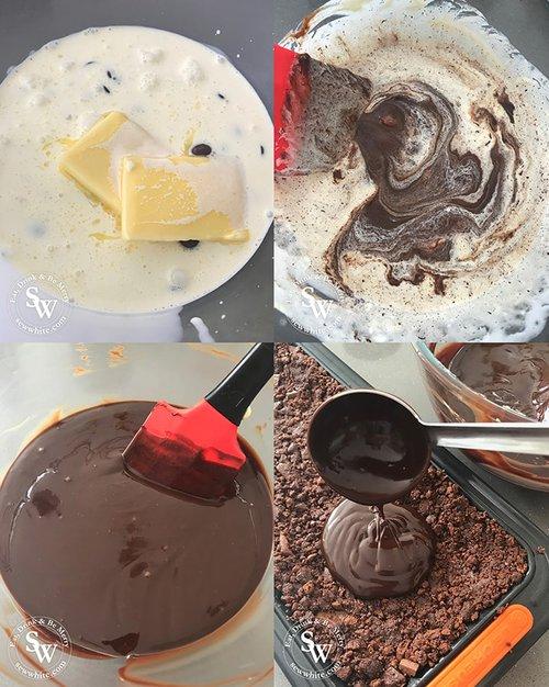 How to make a Chocolate Truffle Raspberry Tart