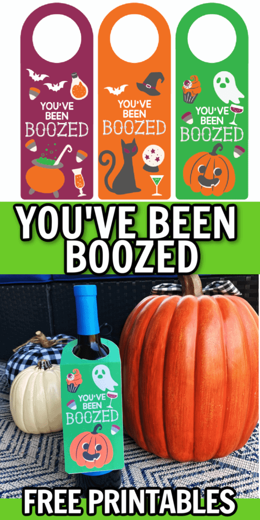 youve been boozed