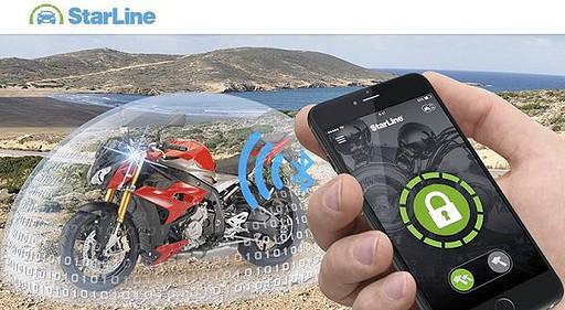 Starline V66 V67 Motorrad Zweirad Alarmanlagen
