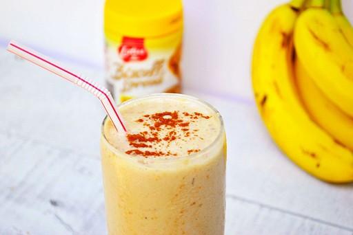 Banana Biscoff Breakfast Smoothie