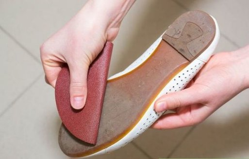 slippery shoes hack