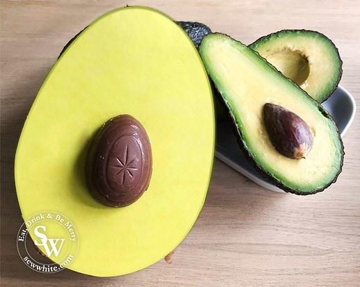 Avocado Easter Egg