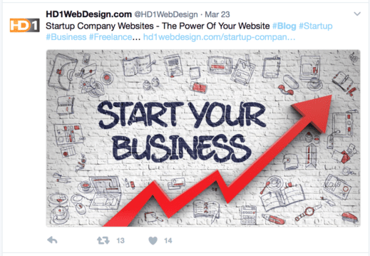 WP featured image thumbnail on Twitter