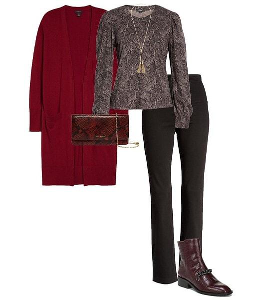 Long cardigan | 40plusstyle.com