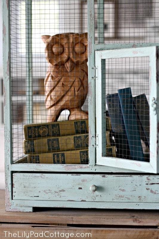 Bird cage - www.thelilypadcottage.com