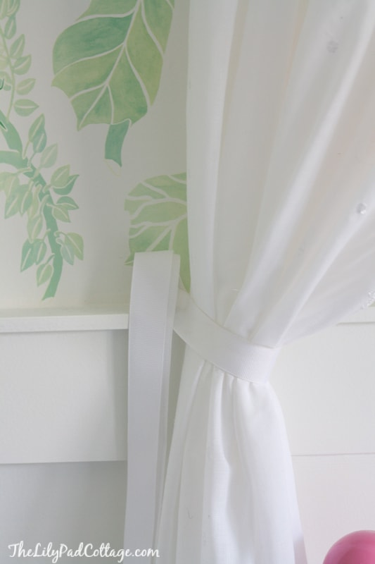 No Sew Bed Canopy