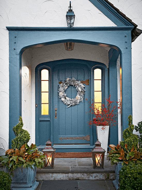 FROZEN DOOR SMALL PORCH DESIGN IDEAS