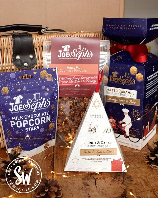 Joe & Steph's popcorn review on the Eat Gift Guide
