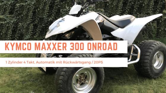 Kymco Maxxer 300 Onroad mieten