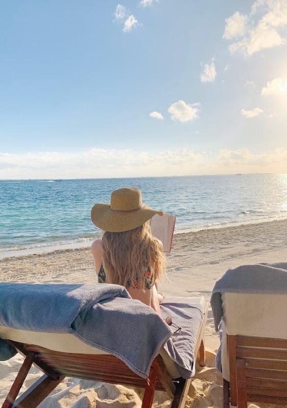 beach vacation playa mujeres