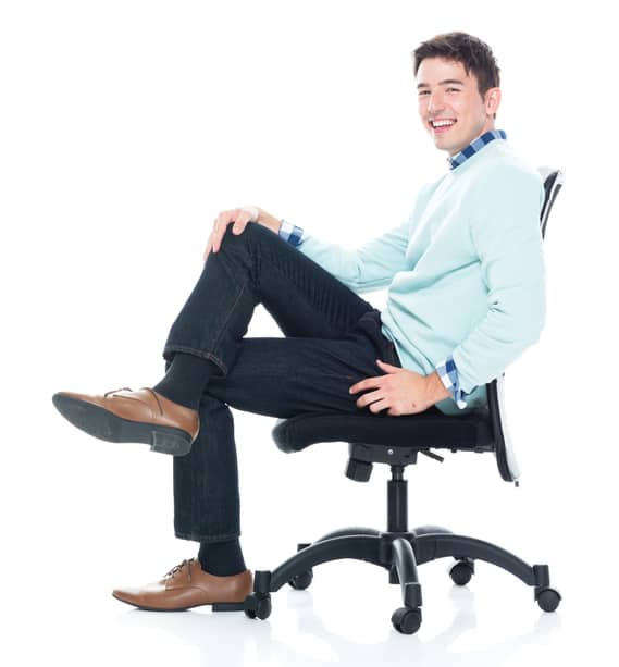 How to Select an Office Chair for Taller People