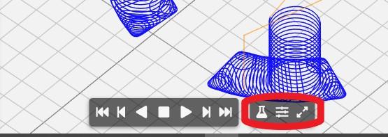 nc viewer customize buttons