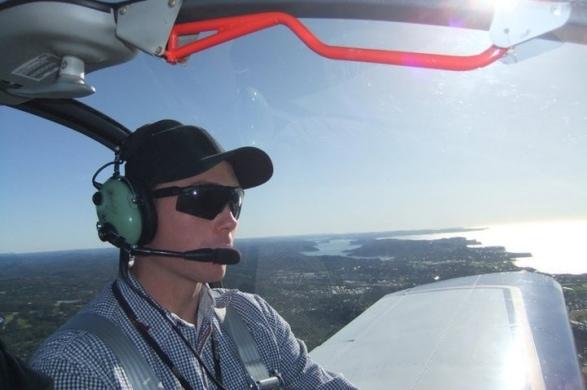 Aerobatic flight training joy flight experience