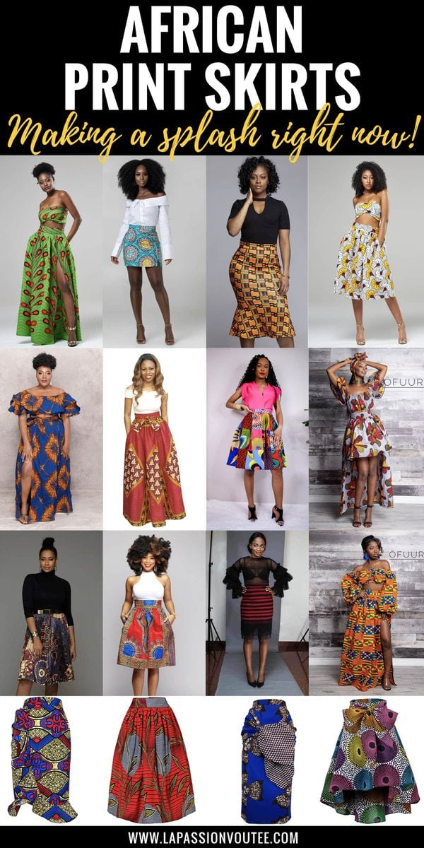 23 Hottest African Print Skirts   Who would have thought that African print clothes would look this good? Check out this unique selection from the best African fashion designers. From ankara Dutch wax, Kente, to Kitenge and Dashiki. All your favorite styles in one place (+find out where to get them). Click to see all! Ankara, Dutch wax, Kente, Kitenge, Dashiki, African print dress, African fashion, African women dresses, African prints, Nigerian style, Ghanaian fashion, Senegal fashion, Kenya fashion, Nigerian fashion #africanprint #ankarastyles