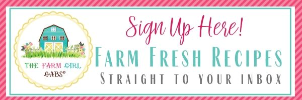 Join The Farm Girl Gabs Mailing List