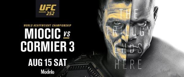 UFC 252 Miocic vs Cormier 3 Sat Aug 15 - MMA Fight Coverage
