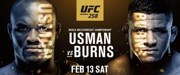 UFC 258 Usman vs Burns Feb 13 - MMA Fight Coverage