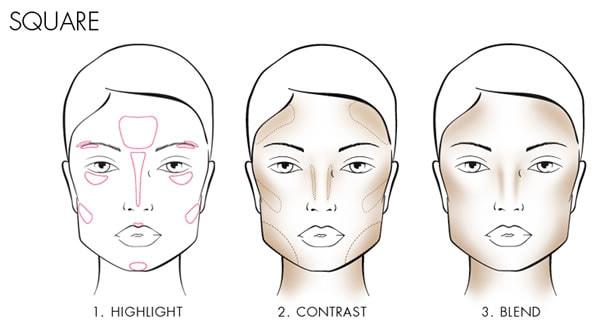 How to contour a square face | 40plusstyle.com