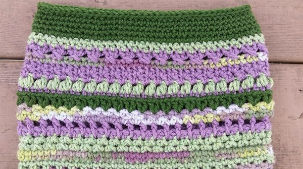 crochet sampler bag | ASimpleHomestead.com