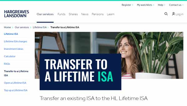 Transfer ISA to HL