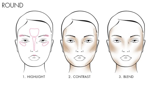 controuring a round face | 40plusstyle.com