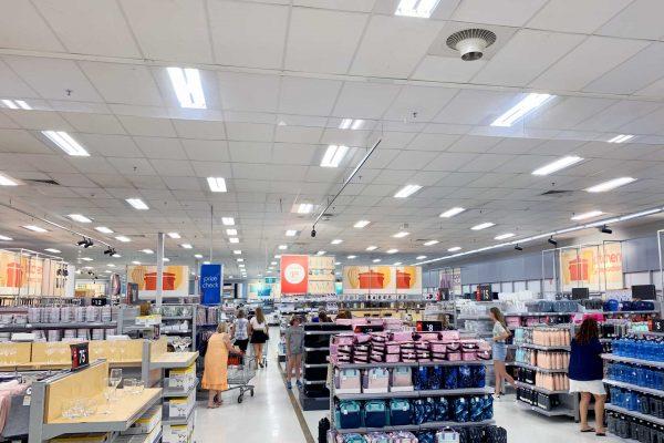 Airius-Cooling-Fans-Installation-at-Kmart-Robina-2