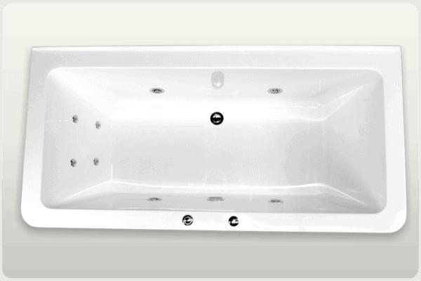 Back to Wall Spa Bath Rosemary