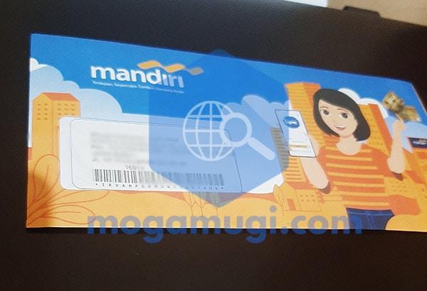 Mengganti Kartu ATM Mandiri Online