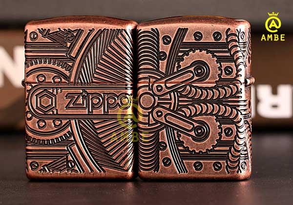 Top Zippo đồng đỏ cao cấp