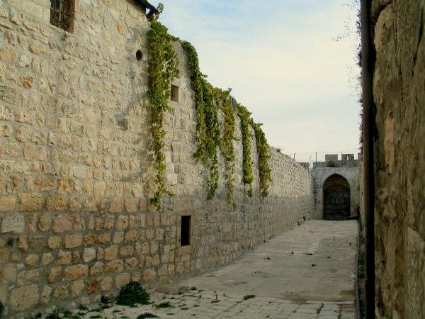 קיר אבן ירושלמית