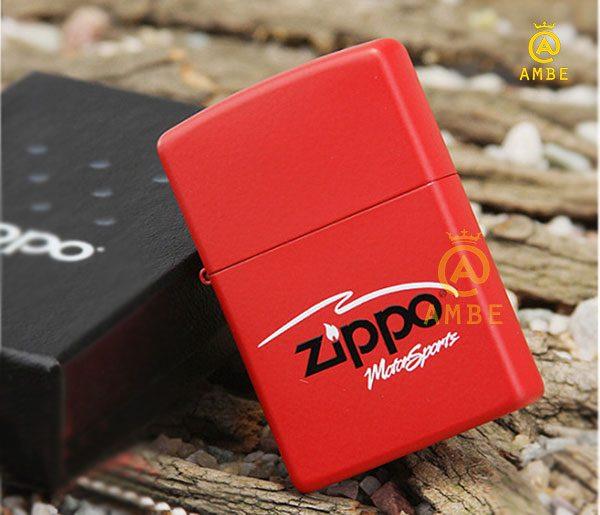 Top bật lửa Zippo đỏ