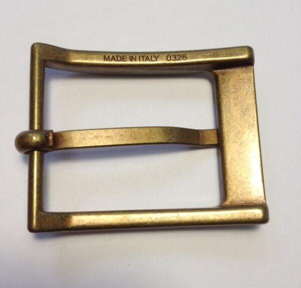 Пряжки для ремней 30 мм старая латунь