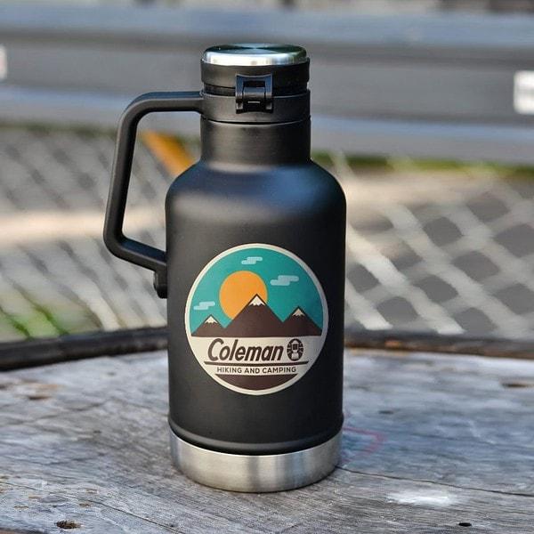 露營貼紙 車貼 GoOut Coleman