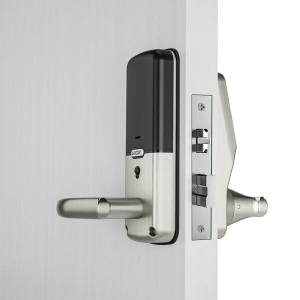 Lockly Lux Compact Satin Nickel