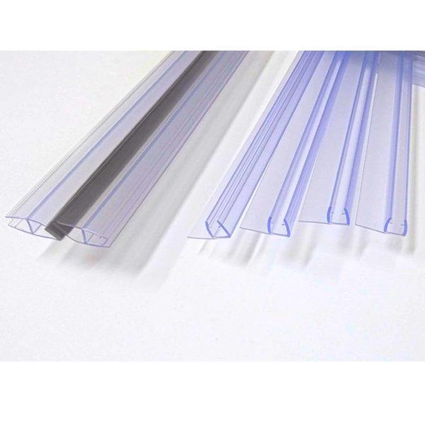 Magnetic door seal 6mm glass 1830mm long with door seals shower door parts