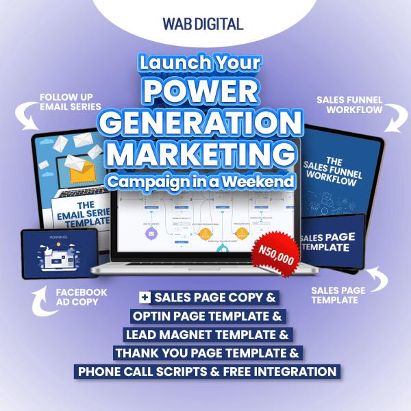 Power Generation Marketing