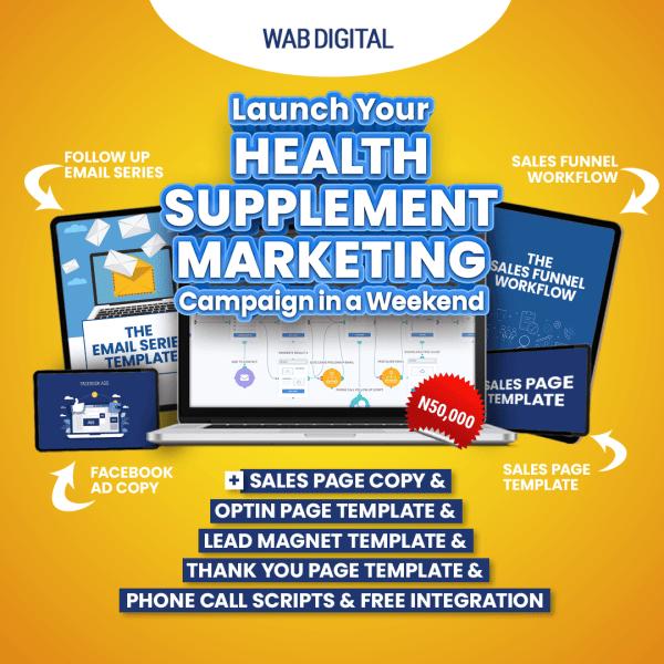 Health Supplement Marketing