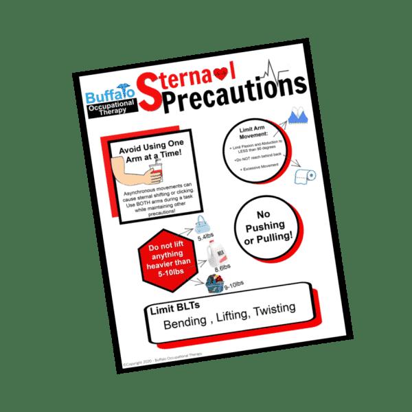 Sternal Precautions- Buffalo Occupational Therapy