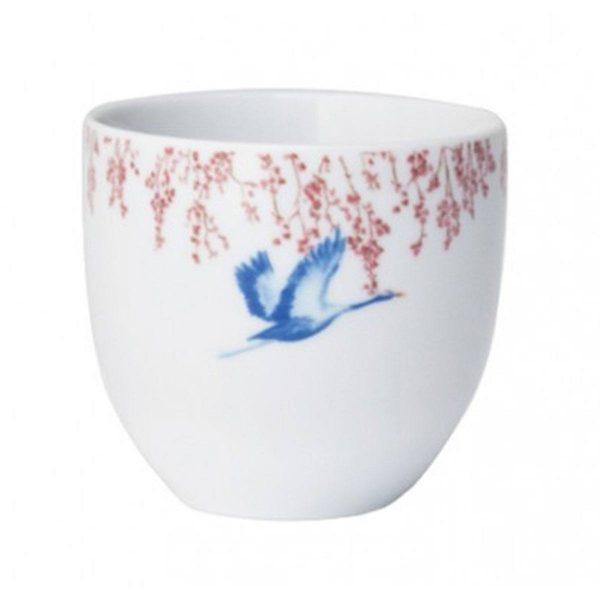 Catchii koffiekop Cherry Blossom & Lucky cranes 200ml