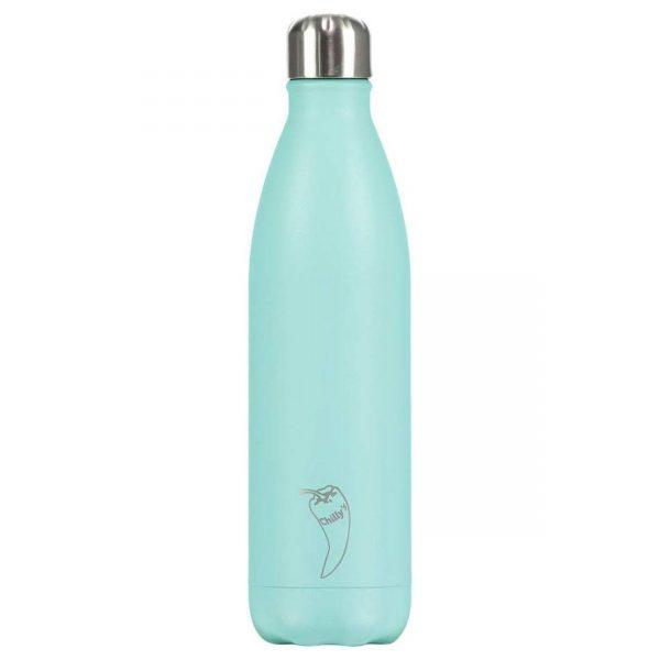 Chilly Bottle Pastel Groen 500ml