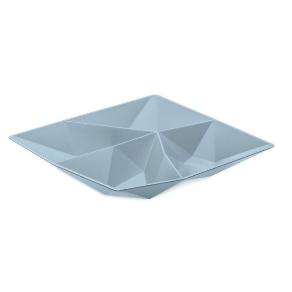 koziol snackschaal kant powder blue